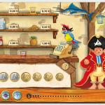 Als echter Pirat mit Capt'n Sharky Zahlen lernen, buchstabieren und erste Worte in Englisch lernen