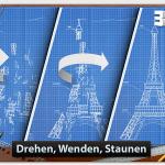 Ungewöhnliches Spiel: Ein Puzzle mit 3D-Blaupausen zum Drehen für iPhone, iPod Touch und iPad