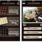 Neue Idee: Schoggi-Grüsse ganz einfach vom iPhone oder Android-Smartphone versenden